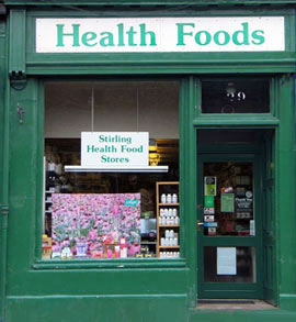 The Stirling Health Food Store - Home Brew Shops